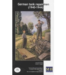 1:35 German tank repairmen (1940-1944) - 2 figures