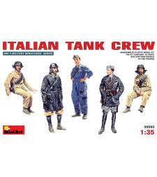 1:35 Italian Tank Crew - 5 figures