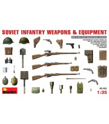 1:35 Soviet Infantry Weapons and Equipment