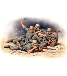 1:35 German Infantry Defense, Eastern Front Battle Series, Kit No.1 - 4 figures