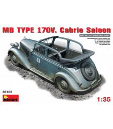 1:35 MB TYPE 170V  Cabrio Saloon