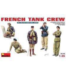 1:35 French Tank Crew - 5 figures