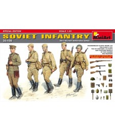 1:35 Soviet Infantry. Special Edition - 5 figures