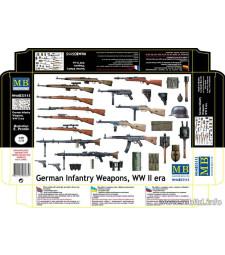1:35 German Infantry Weapons, WW II era