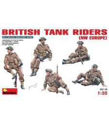 1:35 British Tank Riders (NW Europe) - 5 figures