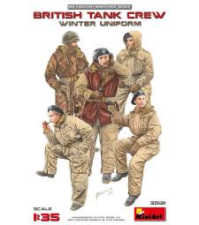1:35 British Tank Crew (Winter Uniform) - 5 figures