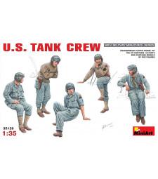 1:35 U.S. Tank Crew - 5 figures
