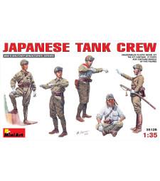 1:35 Japanese Tank Crew - 5 figures