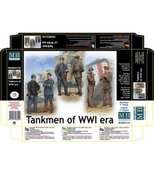 1:35 Tankmen of WWI era  - 6 figures