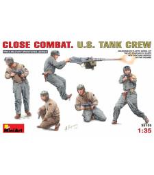 1:35 Close Combat. U.S. Tank Crew - 5 figures