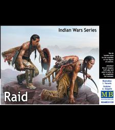 1:35 Indian Wars Series. Raid - 2 figures