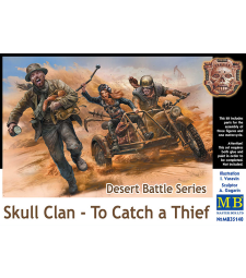 1:35 Desert Battle Series, Skull Clan - To Catch a Thief - 3 figures