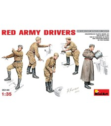 1:35 Red Army Drivers - 5 figures