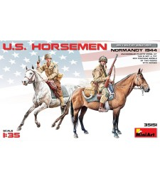 1:35 U.S. Horsemen. Normandy 1944 - 2 figures