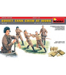 1:35 Soviet Tank Crew at Work. Special Edition – 5 figures