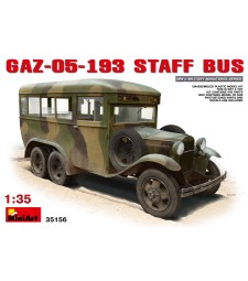 1:35 GAZ-05-193 Staff Bus