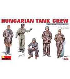1:35 Hungarian Tank Crew - 5 figures
