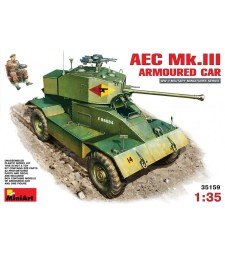 1:35 AEC Mk 3 Armoured Car - 1 figure