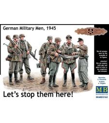 1:35 Let's stop them here! German Military Men, 1945 - 6 figures