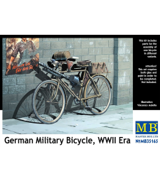 1:35 German Military Bicycle, WWII Era