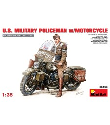 1:35 U.S.Millitary Policeman with Motorcycle