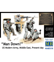 1:35 Man Down! US Modern Army, Middle East, Present day - 4 figures
