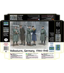 1:35 Volkssturm, Germany, 1944-1945  - 5 figures