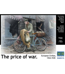 1:35 The price of war. European Civilian, 1944-1945 - 1 figure