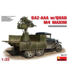 1:35 GAZ-AAA w/Quad M-4 Maxim