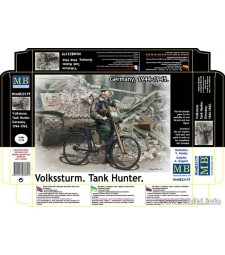 1:35 Volkssturm. Tank Hunter. Germany, 1944-1945  - 1 figures