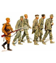1:35 German Captives, 1944  - 6 figures