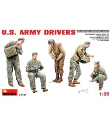 1:35 U.S. Army Drivers - 5 figures