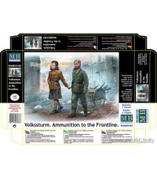 1:35 Volkssturm. Ammunition to the Frontline  - 2 figures