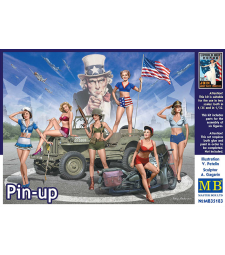 1:35 Pin-up - 6 figures