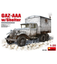 1:35 GAZ-AAA with Shelter