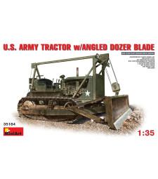 1:35 U.S. Army Tractor w/ Angle Dozer Blade
