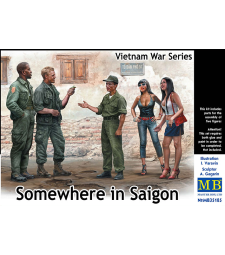 1:35 Somewhere in Saigon, Vietnam War Series - 5 figures