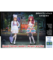 1:35 Kawaii fashion leaders. Minami and Mai - 2 figures