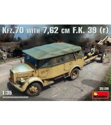 1:35 Kfz.70 & 7,62 cm F.K. 39 ( r )