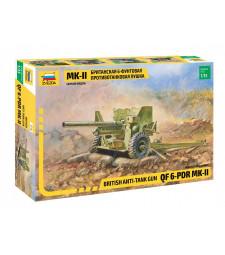 1:35 BRITISH 6-pdr ANTI-TANK GUN
