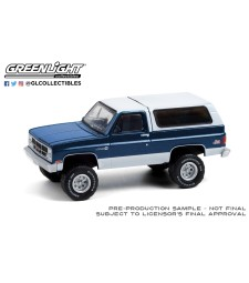 All-Terrain Series 11 - 1987 GMC Jimmy Sierra Classic Lifted - Dark Blue and White Solid Pack