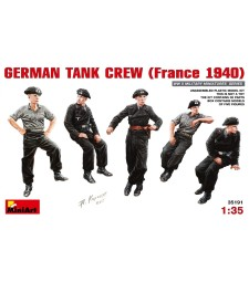 1:35 German Tank Crew (France 1940) - 5 figures