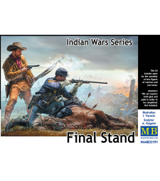 1:35 Indian Wars Series, Final Stand - 2 figures