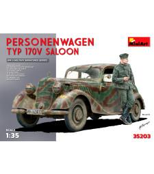 1:35 Personenwagen Typ 170V Saloon Special Edition - 1 figure