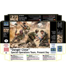 1:35 Danger Close. Special Operations Team, Present Day  - 4 figures