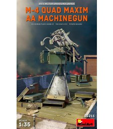 1:35 M-4 Quad Maxim AA Machinegun