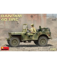 1:35 Bantam 40 BRC - with 5 figures