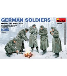 1:35 German Soldiers (Winter 1941-42) - 5 figures