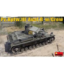 1:35 Pz.Kpfw.3 Ausf.B w/Crew - 5 figures