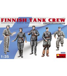 1:35 Finnish Tank Crew - 5 figures